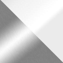 Chrom / Weiß hochglanz