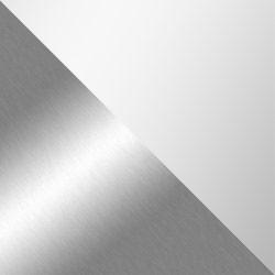 Chrom / Glastischplatte